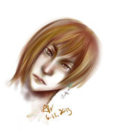 First Sai Painting . Gaius by skystears