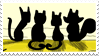 stamp HOME cats by ProfessorBlood2004