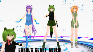 [MMD x Freedom Planet] TDA Freedom Planet Download by SuperSaska