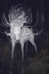 Deer God by Glad-Sad