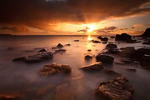 Breizh Sunset by lumiere-ephemere