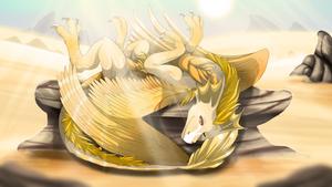 Sunbath by Anais-thunder-pen