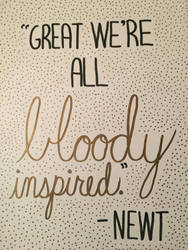 Maze Runner Quote by CookieQueen4