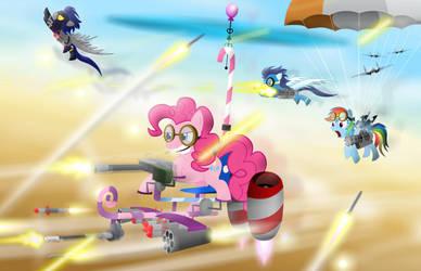 Pinkie's friendship machine by GoneIn10Seconds