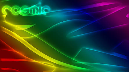 Cosmic Abstract - Wallpaper 2 by xeVile