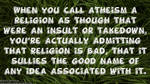 Atheism is a Religion by AmericanDreaming