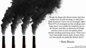Sam Harris on Climate Science by AmericanDreaming