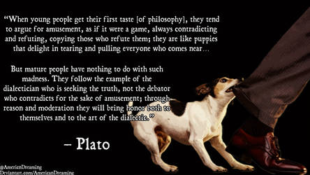 Philosophical Puppies by AmericanDreaming