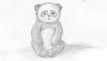 panda sketch by blind-fate