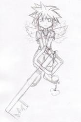 Mini Angel Sora by blind-fate