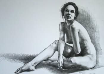 Araina Figure Drawing by wbmstr