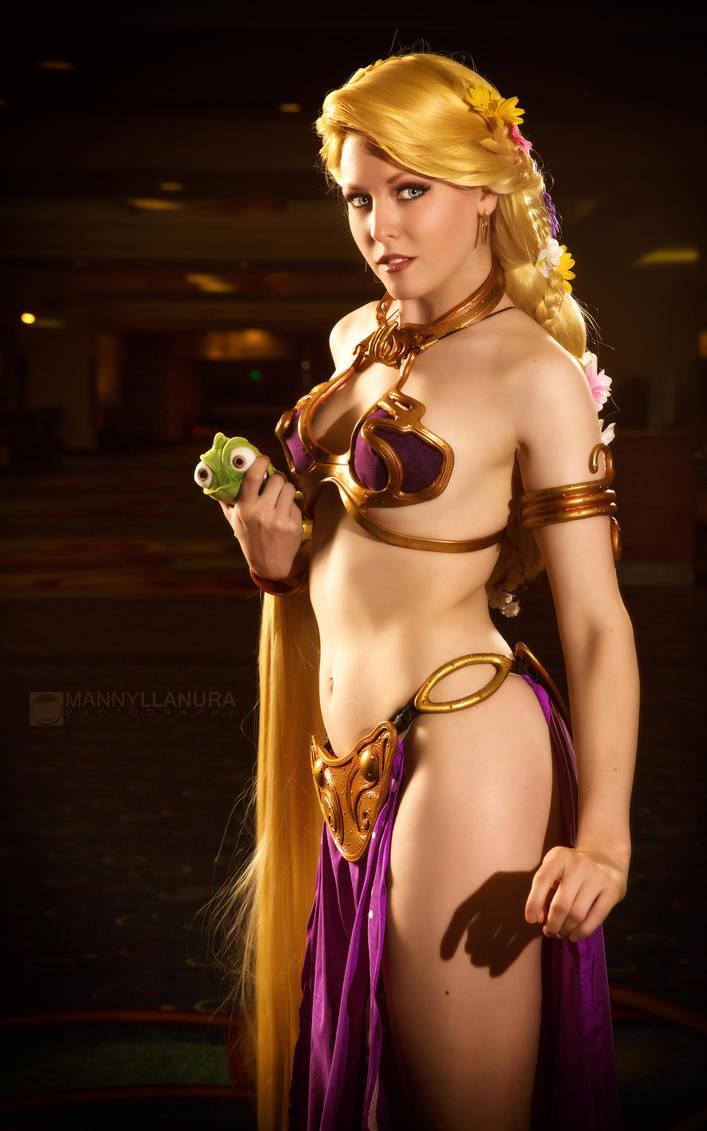 Princess Leia Rapunzel II by wbmstr