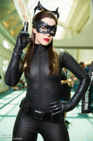 Catwoman Cosplay SDCC2014 Genevieve Marie Nylen by wbmstr