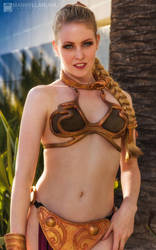 Slave Leia Awakens II by wbmstr
