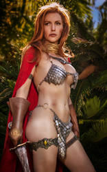 Red Sonja by Jacqueline Goehner by wbmstr