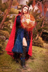 Dr. Strange Cosplay by Genevieve Marie III by wbmstr