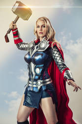 Thor Cosplay II by Genevieve Marie by wbmstr