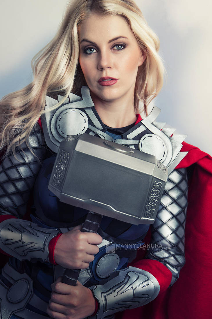 Thor Cosplay III by Genevieve Marie by wbmstr