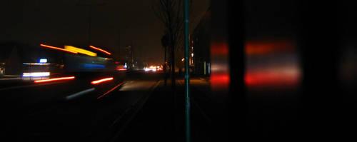 Night Bus Ride by orbituated