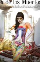 Body Art The Day of the Dead Sugar Skull by NatashaKudashkina
