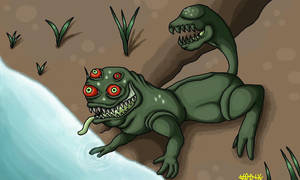 Just a strange monster by DeckyV-2