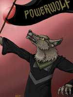 Powerwolf flag by DeckyV-2