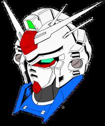 Gundam GP03 Head by HieiFireBlaze