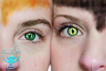 Eye to Eye by TheFelineAlchemist