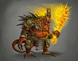 CONCEPT: Demon king by Ancorgil