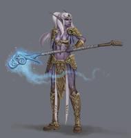Concept: WoW Night Elf by Ancorgil