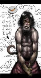monkey by Ancorgil