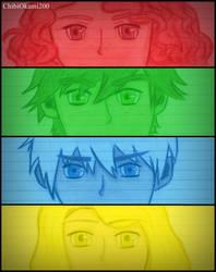 The Big Four by CHIBIOKAMI200