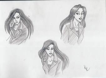 Elisa Maza sketches by KristyBarka