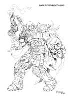 Darksiders: Wrath of War by fernandomerlo