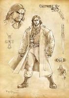 Vampire hunter by fernandomerlo