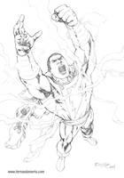 The power of Shazam by fernandomerlo