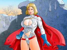 Power Girl by fernandomerlo