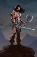 Conan The Barbarian by fernandomerlo