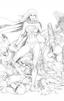 Supergirl New 52 by fernandomerlo