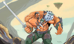 Warrior by fernandomerlo