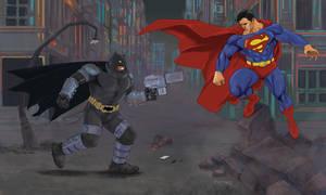 Batman Vs Superman by fernandomerlo
