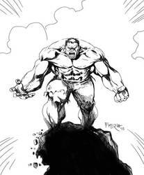 The Hulk by fernandomerlo
