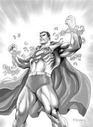 Superman : The Man Of Steel by fernandomerlo