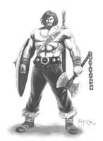 Barbarian by fernandomerlo
