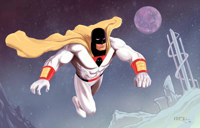 Space Ghost by fernandomerlo