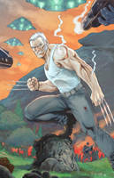 Old Man Logan by fernandomerlo