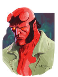 Hellboy by fernandomerlo