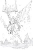 Winged Warrior by fernandomerlo