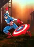 Captain America by fernandomerlo