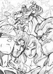 X-men by fernandomerlo